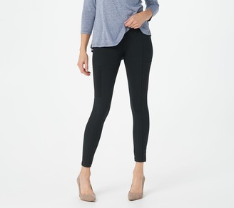 Women With Control Women with Control Petite Tummy Control Leggings with Mesh Pockets
