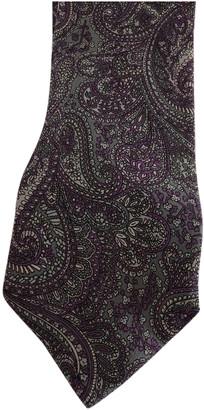 Gucci Purple Silk Ties
