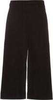 Brunello Cucinelli Wide-leg cropped gabardine trousers