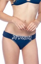Lucky Brand Women's Stitch In Time Hipster Bikini Bottoms