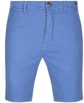 Luke 1977 Tennessee Tailored Chino Shorts Blue