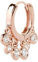 Jacquie Aiche Diamond Shaker Hoop Earring