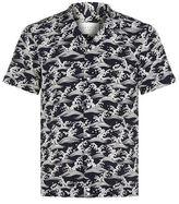 Sandro Wave Print Shirt