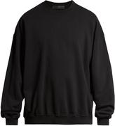 Haider Ackermann Perth crew-neck cotton sweatshirt
