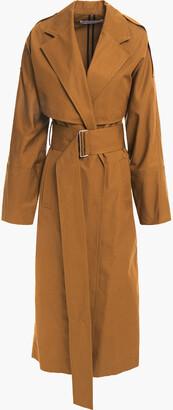 Victoria Beckham Cotton-ottoman Trench Coat