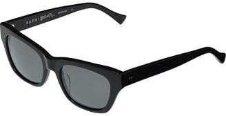 Raen Bower (Black/Black/Polar) Sport Sunglasses