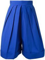 DELPOZO front pleat shorts - women - Cotton - 36
