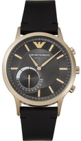 Emporio Armani Renato Black Hybrid Smartwatch