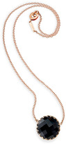 Ivanka Trump Rose Gold & Center Stone Necklace