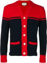 Gucci intarsia tiger cardigan - men - Wool - S