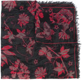 Alexander McQueen printed scarf - women - Cashmere/Wool - One Size