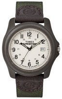 Timex Men's Expedition® Camper Watch with Nylon/Leather Strap and Resin Case - Green T49101JT