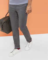Slim Fit Speckled Trousers