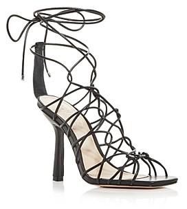 Schutz Women's Heyde Strappy Ankle Tie High Heel Sandals