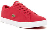 Lacoste Straightset Lace Sneaker (Little Kid & Big Kid)