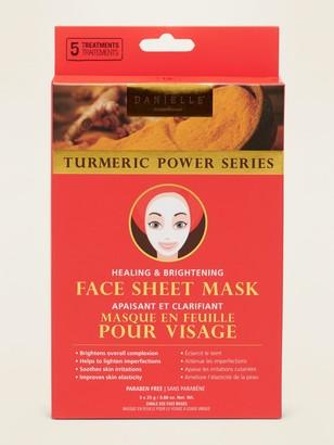 Danielle Creations Turmeric Face Sheet Mask
