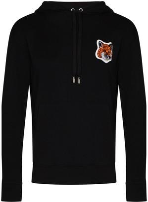 MAISON KITSUNÉ Fox Head cotton hoodie