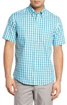 Cutter & Buck Men's Big & Tall Los Rios Regular Fit Check Sport Shirt