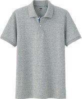 Uniqlo Men's Dry Pique Color Placket Polo Shirt