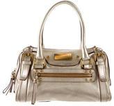 Dolce & Gabbana Metallic Leather Handle Bag