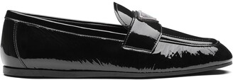 Prada Naplak leather loafers