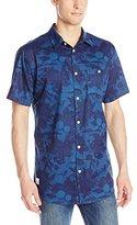 Wesc Men's Asoth AOP Short Sleeve Shirt