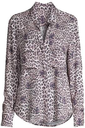 Mikoh Mentawai Leopard Print Tunic