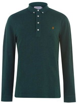 Farah Long Sleeve Ricky Polo Shirt
