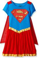 Superhero Girls DC Comics Supergirl Nightgown With Cape for girls (10/12)