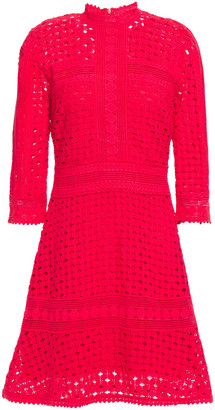 BA&SH Cotton Lace Mini Dress