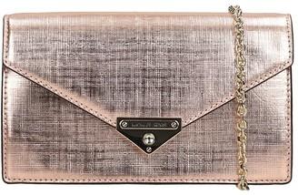 Michael Kors Shoulder Bag In Copper Leather