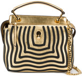 Fendi mini Dotcom Click shoulder bag - women - Leather/metal - One Size
