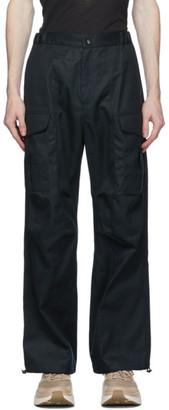 paria /FARZANEH Navy Geri Cargo Trousers