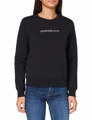 Calvin Klein Jeans Women's Shrunken INST REG CN Sweater