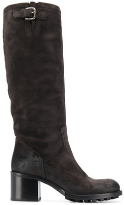 Strategia P863 knee length boots