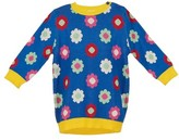 Margherita Toddler Girl's Daisy Double Knit Sweater Dress