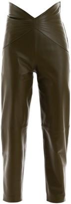 ATTICO Stitch Detail Panelled Pants