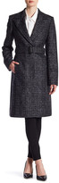 HUGO BOSS Cepina Wool Blend Coat