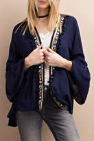 Easel Sequin Detailed Cardigan