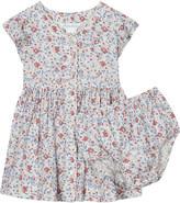 Ralph Lauren Floral print tea dress & underwear 3-24 months