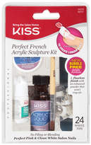 Kiss Perfect French Acrylic Sculpture Kit Pink