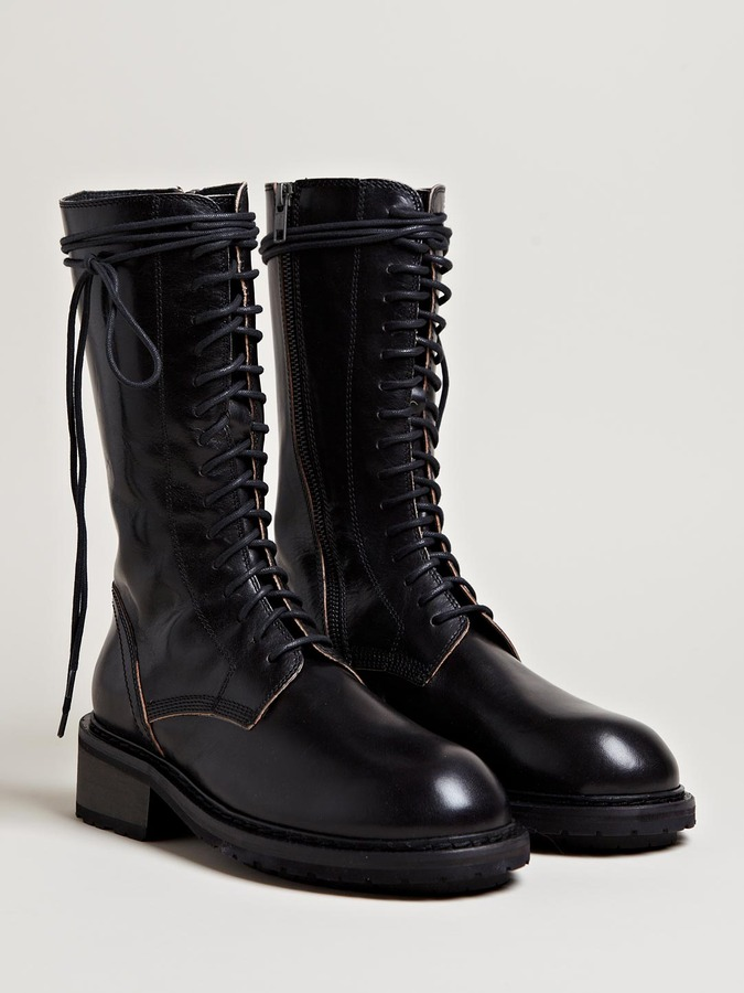 Ann Demeulemeester Women's Tamponato Mid High Boots