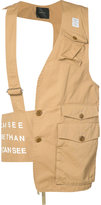 Undercover utility pocket vest - men - Cotton - 2