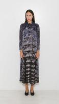 Raquel Allegra Victorian Neck Dress