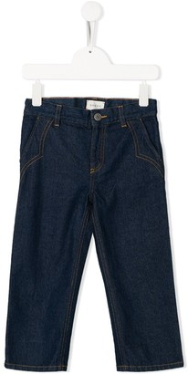 Gucci Kids Cropped Jeans