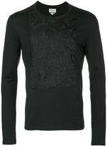 Rochas crew neck jumper - men - Cotton/Polyester - S