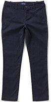 Ralph Lauren Big Girls 7-16 Skinny Chino Pants