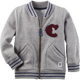 Carter's Zip Front Sweater (Toddler/Kid) - Heather - 4