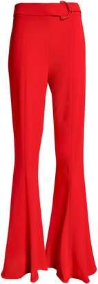 Cushnie Stretch-crepe Flared Pants