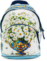 Dolce & Gabbana printed backpack - kids - Calf Leather/polyester - One Size